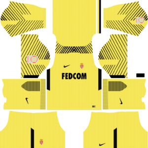 AS Monaco FC Kits (Goalkeeper Away)
