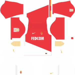 AS Monaco FC Kits (Home)