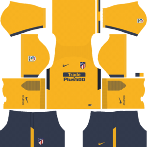 Atletico Madrid DLS Away Kit