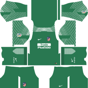 Atletico Madrid DLS Goalkeeper Away Kit