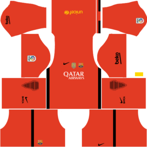 Barcelona DLS Goalkeeper Third kit