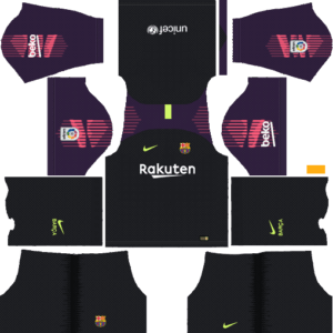 Barcelona DLS Goalkeeper Home Kit