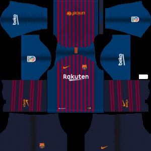Barcelona Kits home