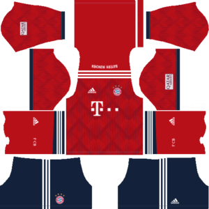 Bayern Munich Kits home