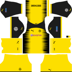 Borussia Dortmund Goalkeeper Third Kit