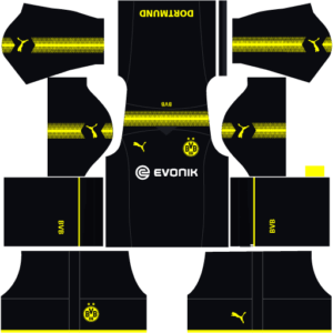Borussia Dortmund Kits (Away)