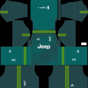 Juventus DLS Goalkeeper Home Kit