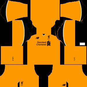 Liverpool Kits (Goalkeeper Away)