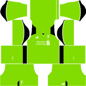 Liverpool Kits (Goalkeeper Home)