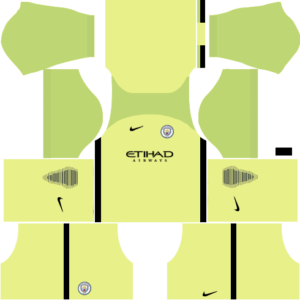 Manchester City Kits (Goalkeeper Home)