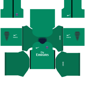 PSG kits (Goalkeeper Home)