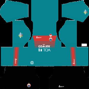 Persija Jakarta Kit (GoalKeeper Away)