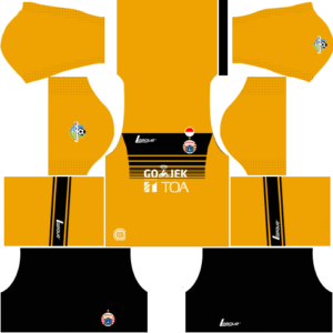 Persija Jakarta Kit (Goalkeeper Home)