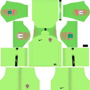 Portugal DLS Goalkeeper Away Kit