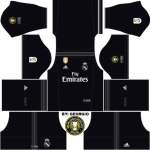 Real Madrid DLS Away Kit