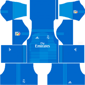 Real Madrid DLS Goalkeeper Away Kit