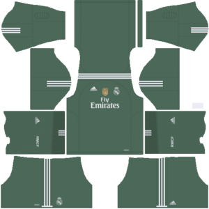 Real Madrid DLS Goalkeeper Home Kit