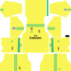 Real Madrid DLS Goalkeeper Third Kit