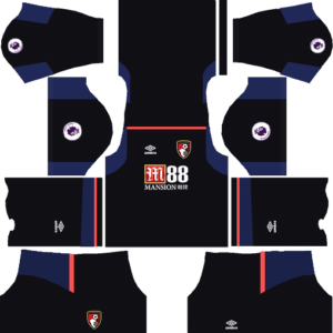 AFC Bournemouth DLS Goalkeeper Away Kit