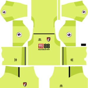 AFC Bournemouth DLS Goalkeeper Home Kit