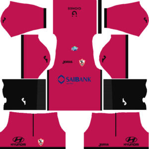 Al Zamalek Sc DLS Goalkeeper Away Kit