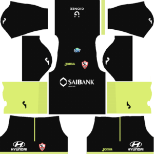 Al Zamalek Sc DLS Goalkeeper Home Kit