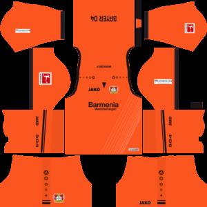 Bayer Leverkusen DLSGoalkeeper Home Kit