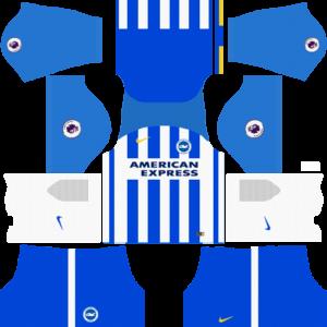 Brighton & Hove Albion F.C. DLSHome Kit