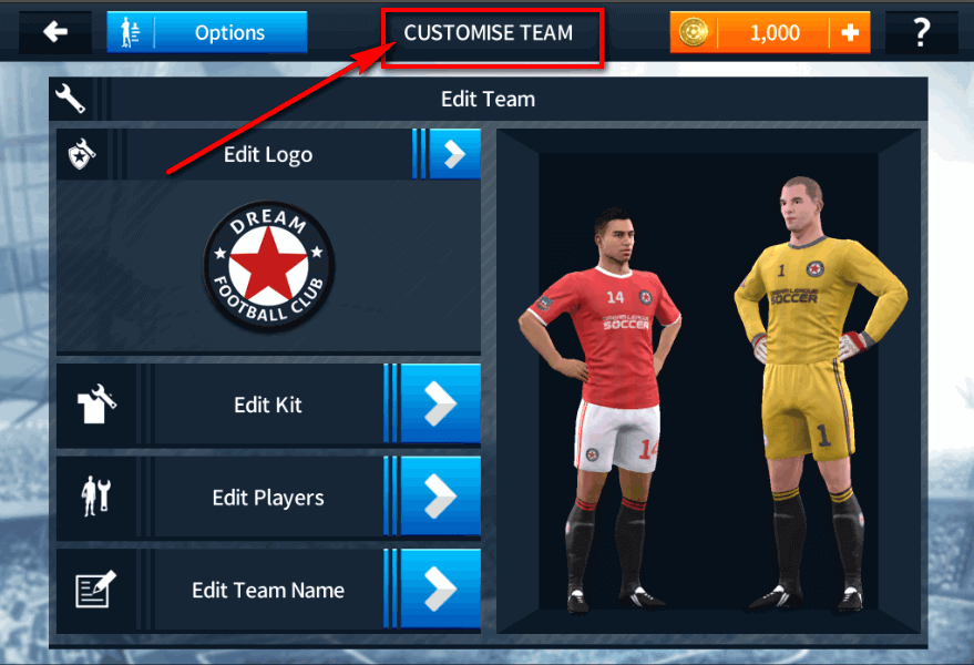 dream league soccer image 1