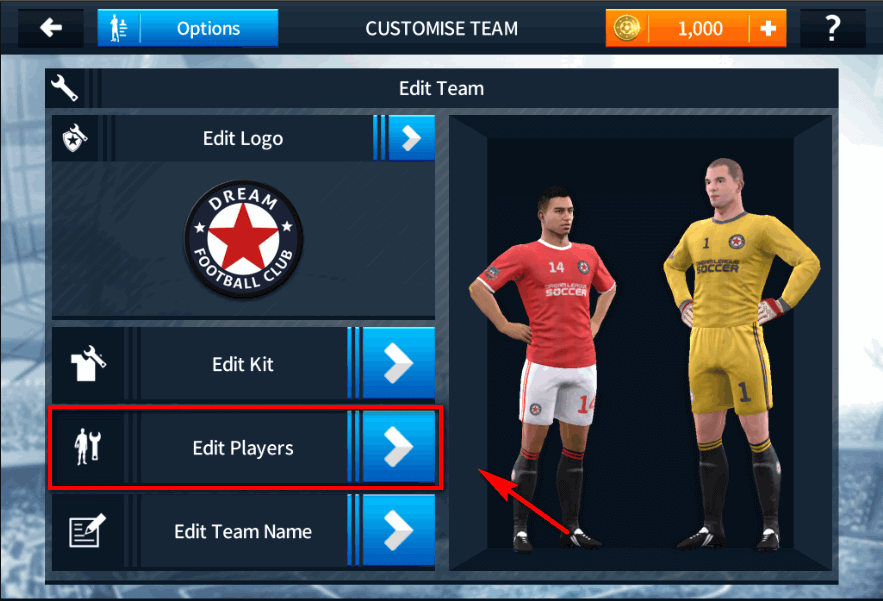 dream league soccer image 3