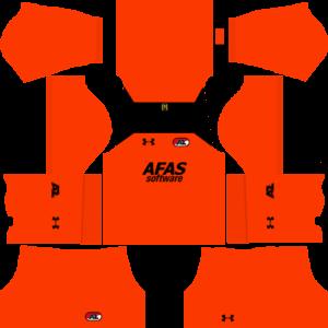 AZ Alkmaar DLS Goalkeeper Away Kit