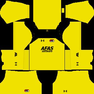 AZ Alkmaar DLS Goalkeeper Home Kit
