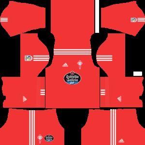 Celta Vigo DLSGoalkeeperAway Kit