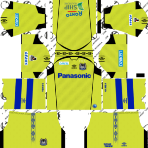 Gamba Osaka DLS Goalkeeper Away Kit
