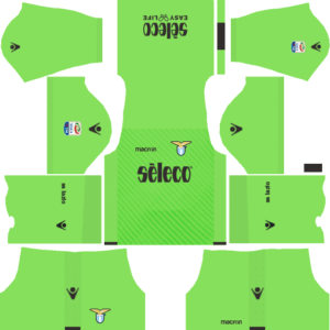 S.S. Lazio DLS Goalkeeper Away Kit