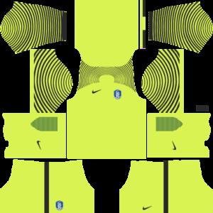 South Korea DLS GoalkeeperAway Kit