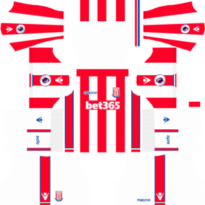 Stoke City F.C. DLS Home Kit