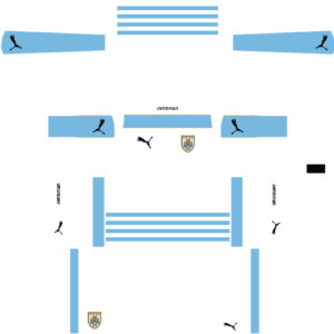 Uruguay DLS Away Kit