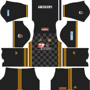 Vegalta Sendai DLS Goalkeeper Away Kit