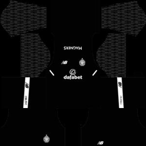 Celtic F CDLS GoalkeeperAway Kit