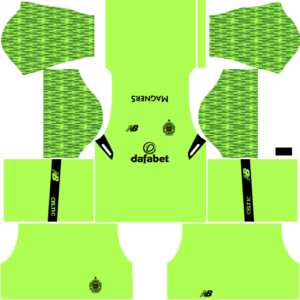 Celtic F CDLS Goalkeeper Home Kit