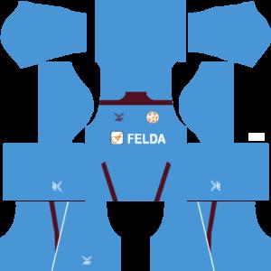 Felda United DLS Goalkeeper Home Kit