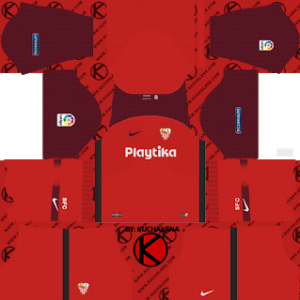 Sevilla F C DLS Away Kit
