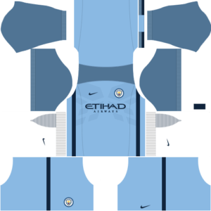 DLS Manchester City Home Kit