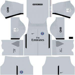 PSG goalkeeper away kit
