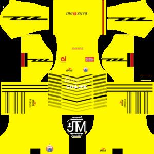 Persija Jakarta DLS Goal Keeper Home Kit