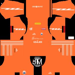 Persija Jakarta DLS Third Kit