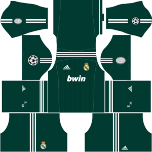 Real madrid champion league kit new