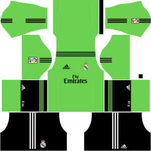 Real madrid goalkeeper new away kit
