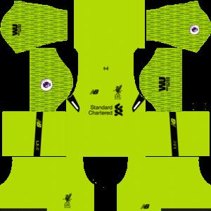 reputable site cb132 3827b Liverpool Kits 2019 & Logo's (DLS) - Dream League Soccer ...